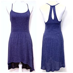 Abercrombie & Fitch Blue-Gray Racerback Dress
